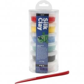 Silk Clay Assortiment standaard 6x14 gram