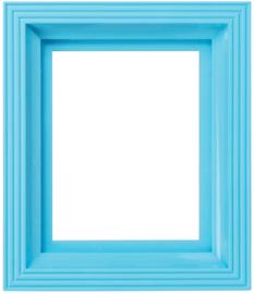 Frame baby blauw