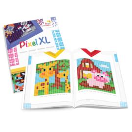 Pixel XL A5 patronen boekje voor de  basisplaat (10x12 cm)