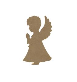 Staande engel 6 mm dik, 15 cm