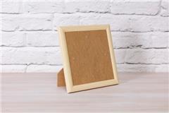 Crystal Art frame 18x18cm houtkleur