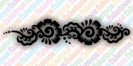 Henna Swirl Armband