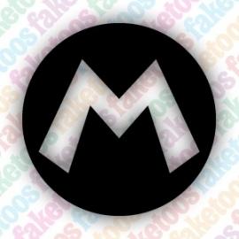 (013) Mario Badge