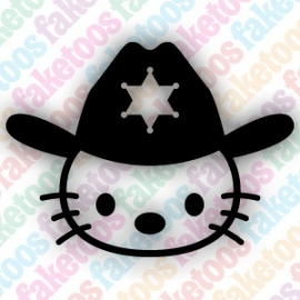 Hello Kitty - Cowboy