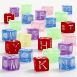 Letter Kralen per stuk