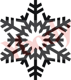 54900 Snow flake