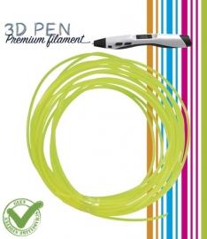 3D Pen filament PLA - 5M - geel fluor