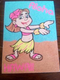 Hawaii meisje