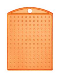 Medaillon transparant oranje