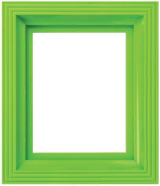 Frame ligt groen