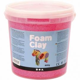 Foam Clay neon roze 560 gram