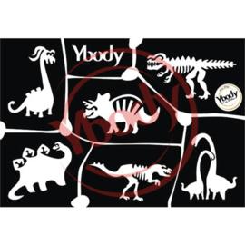 A5 Dinosaur Stencil