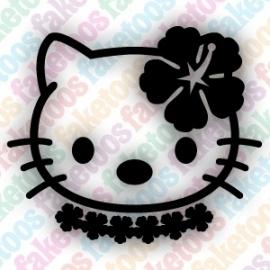 (080) Hello Kitty -  Hula