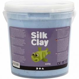 Silk Clay neon blauw 650 gram