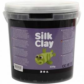 Silk Clay zwart 650 gram