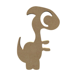 Dino cartoon 6 mm dik, 15 cm