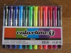 Colortime stiften 4,3 mm lijn 12 stuks