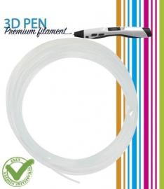 3D Pen filament PLA - 5M - transparant fluor