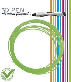 3D Pen filament PLA - 5M - groen fluor