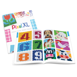 PIXEL XL A5 patronen boekje voor de kleine  basisplaat (6x6)