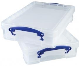 Opbergbox (4 liter) met 2x 15 vaks inzetbakken