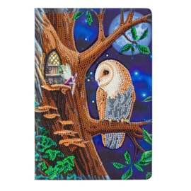 Crystal Art Notebook Fairytail Owl