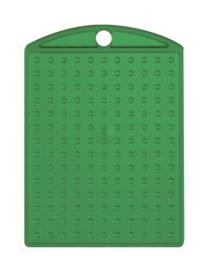Medaillon transparant groen