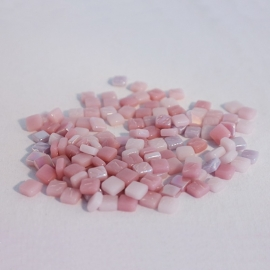 Colourful Squares mix 75 gram - Pink Fizz