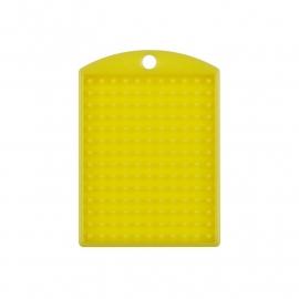 Medaillon geel 11x14 pixels
