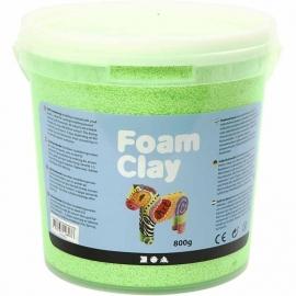 Foam Clay neon groen 560 gram