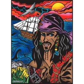 Piraat Large 35x47 cm