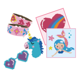 DIAMOND DOTZ DOTZIES GIRL VARIETY KIT 6 PROJECTS