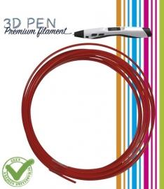 3D Pen filament PLA - 5M - rood