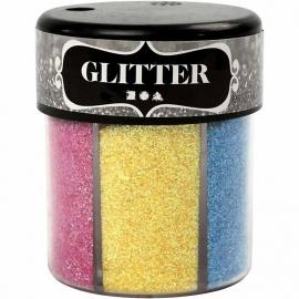 Glitter Assortiment (2) 6x13 gr.