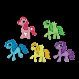 Pony's 5 stuks