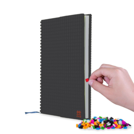 Pixie crew notitieboek zwart