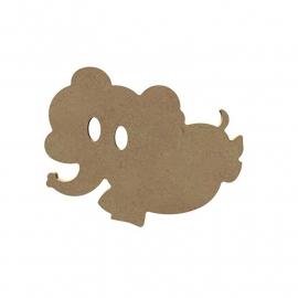 Leuke olifant 6 mm dik, 15 cm