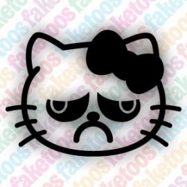 Hello Kitty -  Grumpy