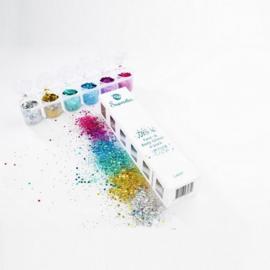 Laser Chunky Glitter Mix 6-pack