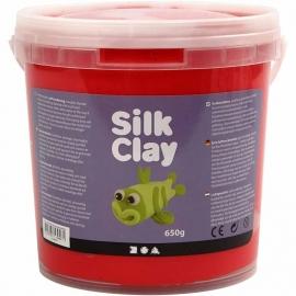 Silk Clay rood 650 gram