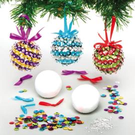Kerstballen maken 3st.