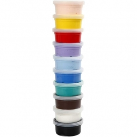 Silk Clay Assortiment basis 2, 10x40 gram