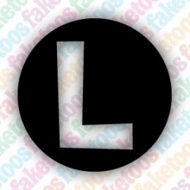 (015) Luigi Badge