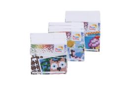 3 Mini boekjes voor de  vierkante kleine basisplaat