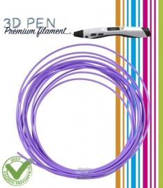 3D Pen filament PLA - 5M - paars