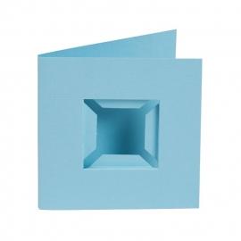 4 st. Passe-Partout blauw met inlegbox