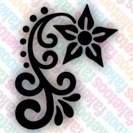 (051) Henna Floral 2