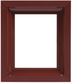 Frame rood-bruin