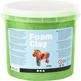 Foam clay metalic groen 560 gram