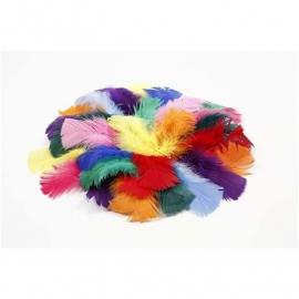 Dons afm 7-8 cm kleuren assorti 50 gram